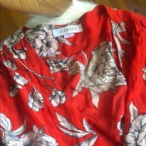 Yumi Kim silk floral dress